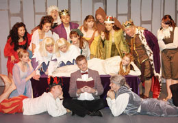 Sleeping Beauty cast listen to the narrator!